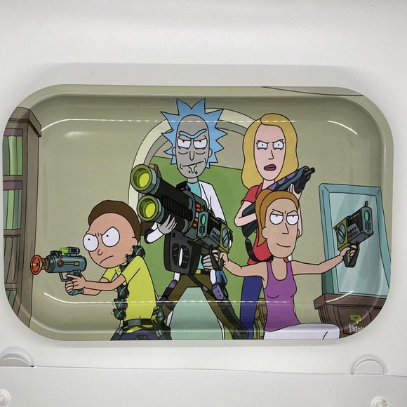 Other - Rick and Morty Rolling Tray 7 X 11
